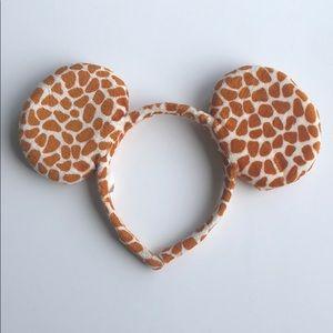 Giraffe Mickey Ears